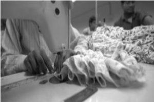 Stitching unit clothing scarf at kk global exports